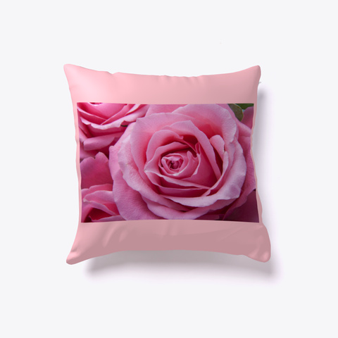 Roses Pillow Pink T-Shirt Front
