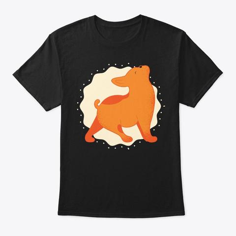 French Bulldog Yoga For Yogi N Dog Lover Black T-Shirt Front