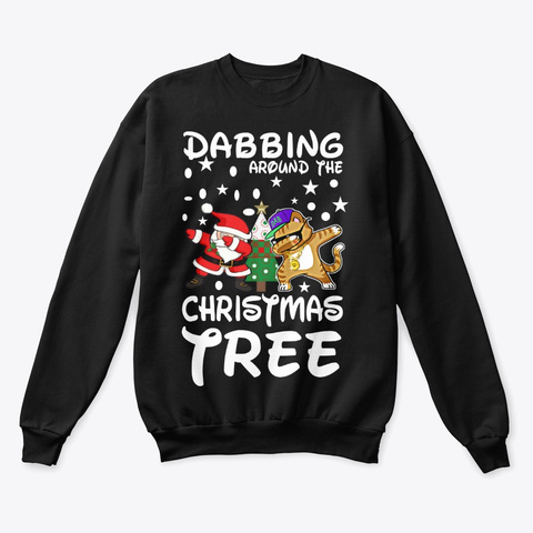 Dabbing Around The Christmas Tree Unisex Tshirt