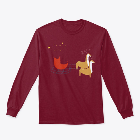Christmas Dream Cardinal Red T-Shirt Front