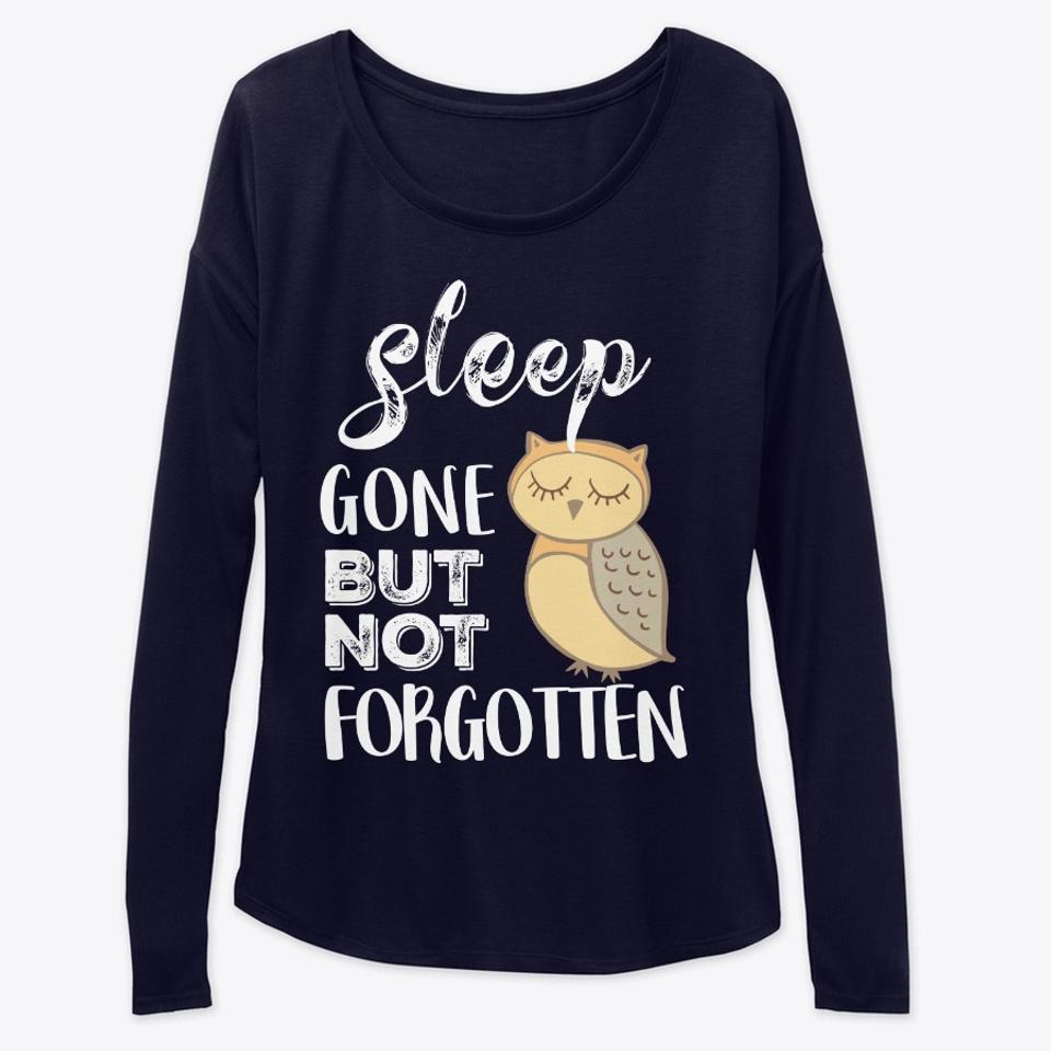 Funny Sleepy Owl Shirt and Mug