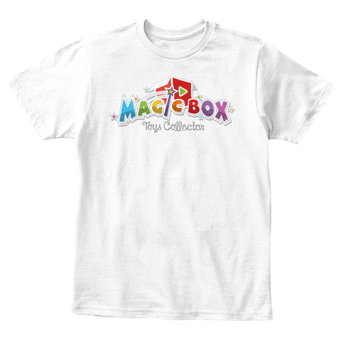 Magic Box Toys Collector White T-Shirt Front