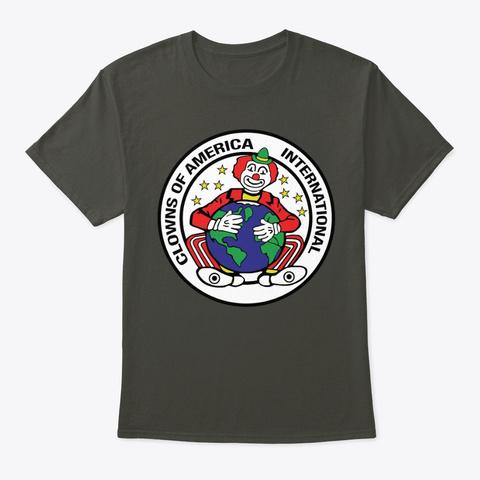 Coai Logo Smoke Gray T-Shirt Front