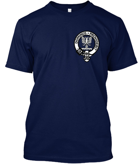 Clan Boyle Navy T-Shirt Front