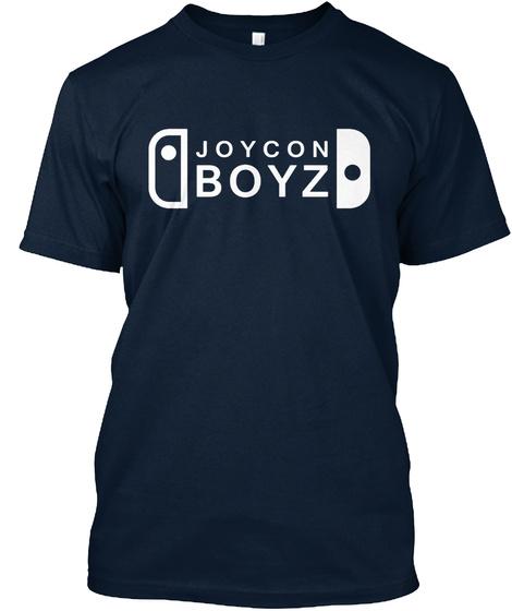 Joy Con Boyz Tshirt New Navy T-Shirt Front