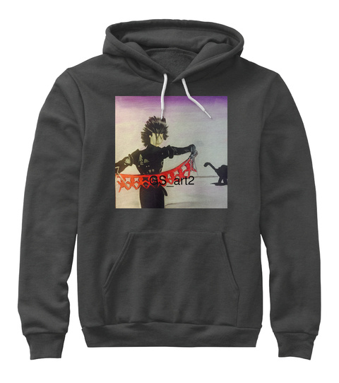 Gs Art2 Dark Grey Heather Sweatshirt Front