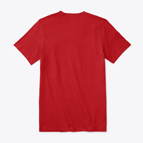 Expedition Red T-Shirt Back