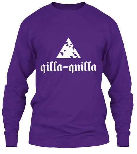 Qilla Quilla Purple T-Shirt Front
