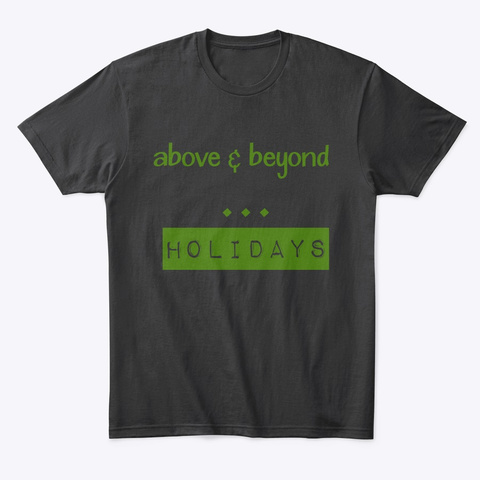 Above & Beyond Black T-Shirt Front
