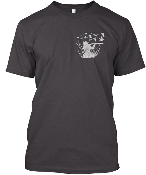 Limited Edition Heathered Charcoal  T-Shirt Front