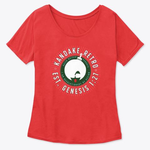 Genesis   Kandake Red Red T-Shirt Front