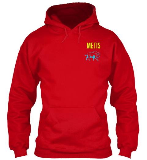 Metis Red Sweatshirt Front
