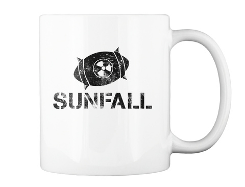 Sunfall White T-Shirt Back