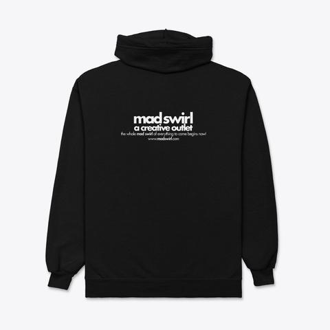 Mad Swirl Merch! Black T-Shirt Back