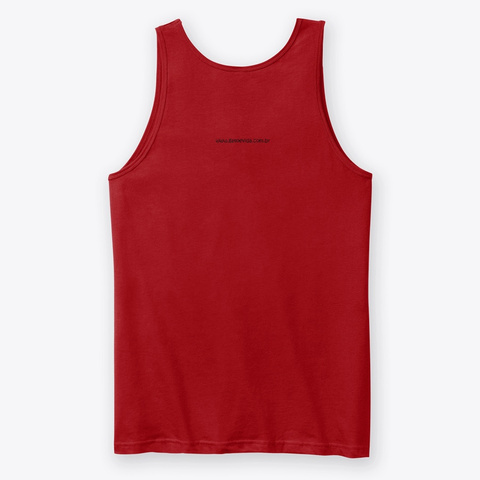 Scratched Tiger Red T-Shirt Back