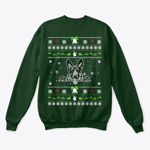 German Shepherd Christmas Sweater.German Shepherd Ugly Christmas Sweater