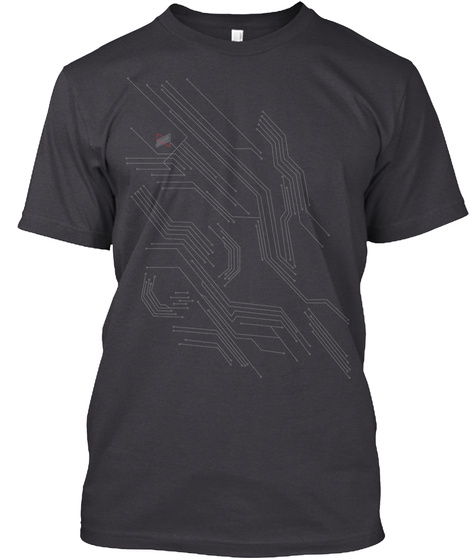 Mkbhd V3 Charcoal Black T-Shirt Front