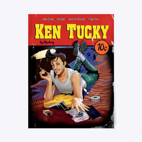 Ken Tucky Poster Standard T-Shirt Front