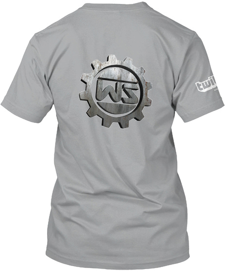 Su 152 T Shirt Mit Wasilij Saizev Logo Light Grey T-Shirt Back
