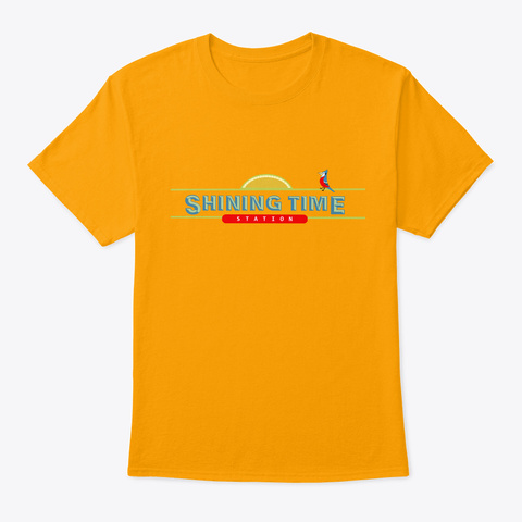 Shining Time Station Gold T-Shirt Front