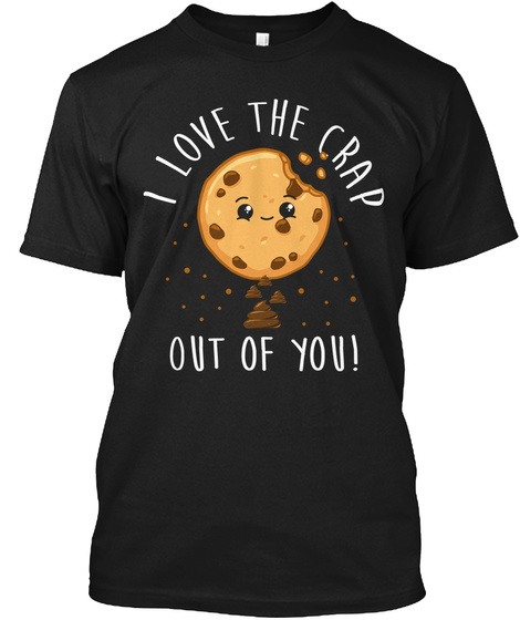 Cookie Tester Chocolate Chip Baker Lick Christmas Black T-Shirt Front