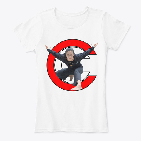 Chintya Candranaya White T-Shirt Front