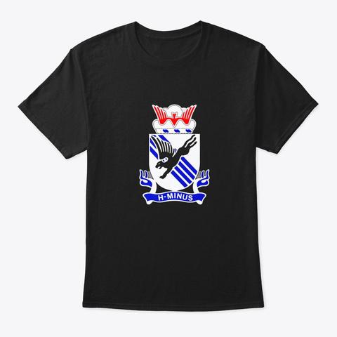 505th Parachute Infantry Regiment Black T-Shirt Front
