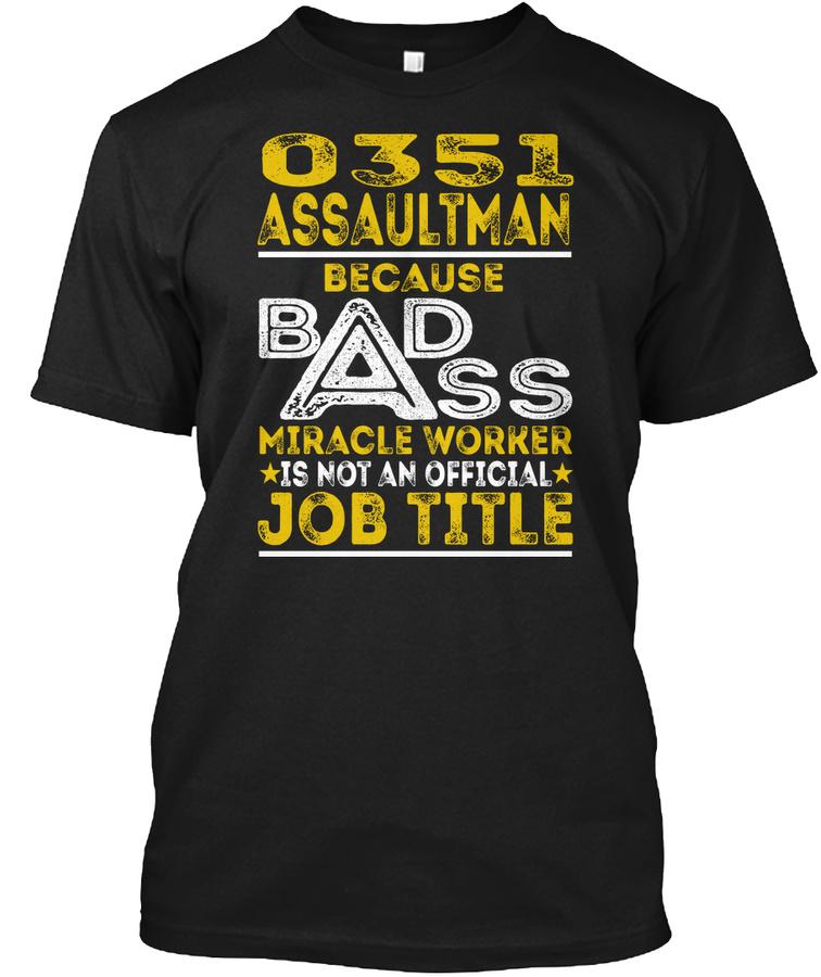 0351 Assaultman - Badass LongSleeve Tee