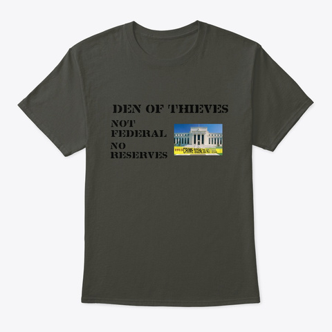 Den Of Thieves 2 Smoke Gray T-Shirt Front