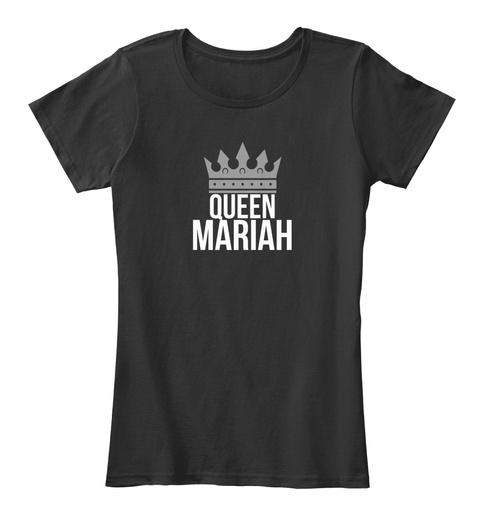 Queen Mariah Black T-Shirt Front