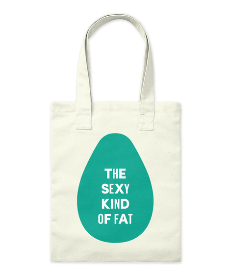 The Sexy Kind Of Fat Natural Borsa di Tela Front