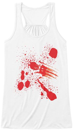 Halloween T Shirt Ideas.Halloween Costume Bloody Tank Top