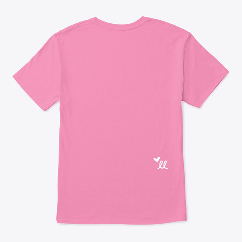 An Error Occurred. Pink T-Shirt Back