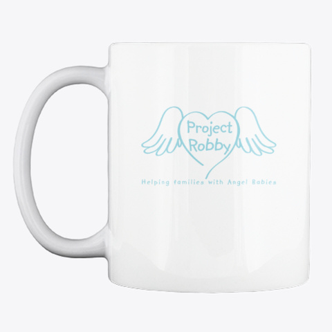 Project Robby Mug White T-Shirt Front