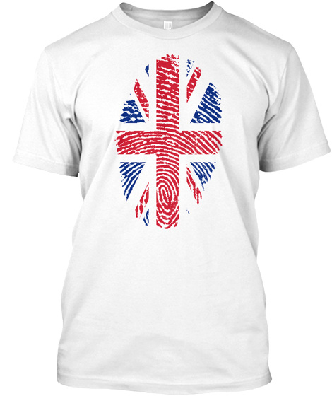 British Fingerprint White Kaos Front
