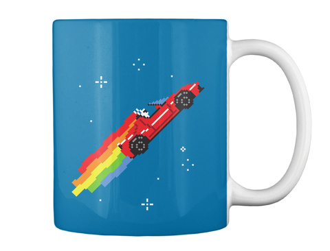 Nyan Roadster Mug [Int] #Sfsf Royal Blue Mug Back