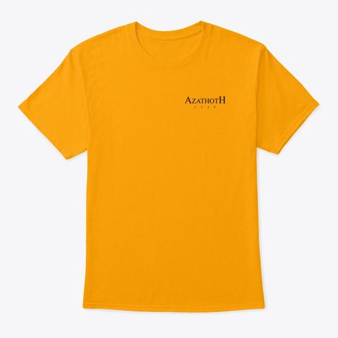 Azathoth Clan Gold T-Shirt Front