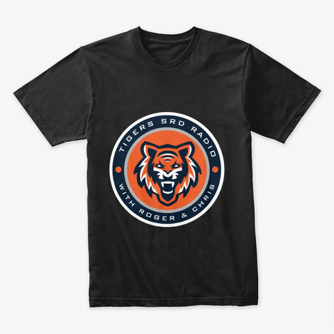 Tigers Srd Black T-Shirt Front