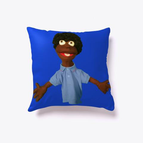 Mercedes Jones Pillow Royal Blue T-Shirt Front
