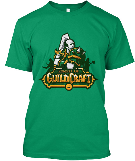 Knights Of Guildcraft Kelly T-Shirt Front
