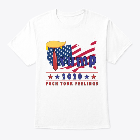 President Trump 2020 Gift   Election Day White T-Shirt Front