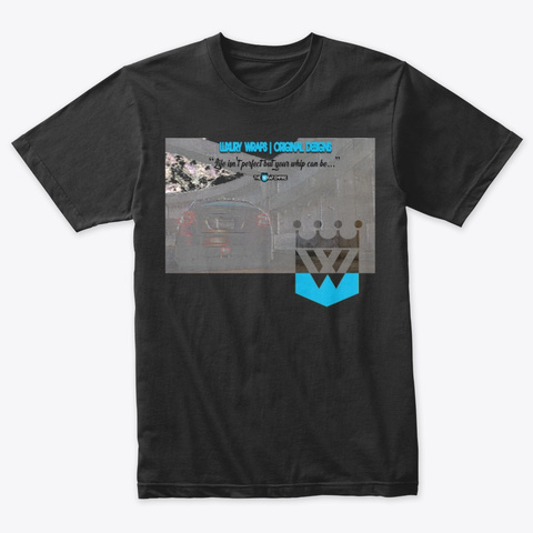 Subie Arse Tri Blend T Vintage Black T-Shirt Front