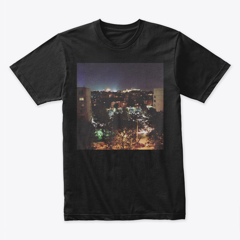57th Black T-Shirt Front