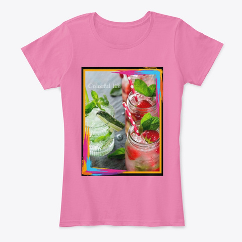 Juicy Design True Pink T-Shirt Front