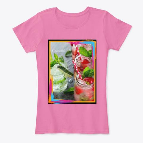 Juicy Design True Pink T-Shirt Front