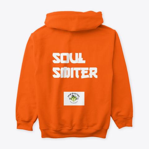 Liberian Girls Anthem By Soul Smiter Safety Orange T-Shirt Back