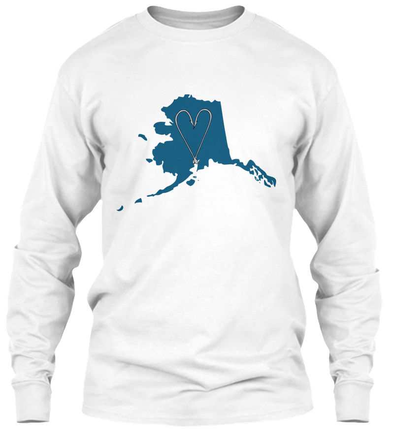 Alaska Fishing Love SweatShirt