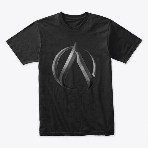 Ak 'alpha' T Shirt Black T-Shirt Front