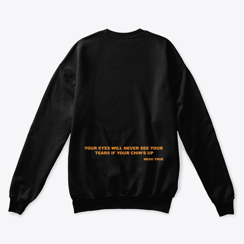 Play This When You Hate Me Merch Black T-Shirt Back
