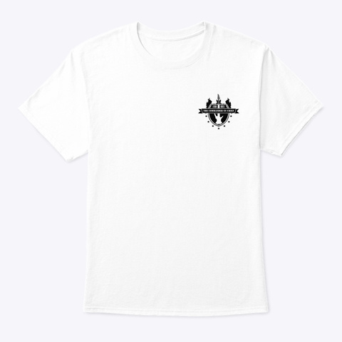 Arctic Warrior  White T-Shirt Front